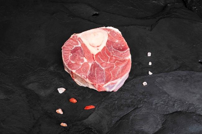 Baby beef ossobuco